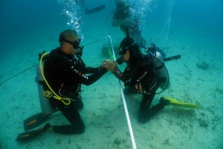 PADI IDC Gili Islands runs every month a PADI IDC with Course Director Sander Buis
