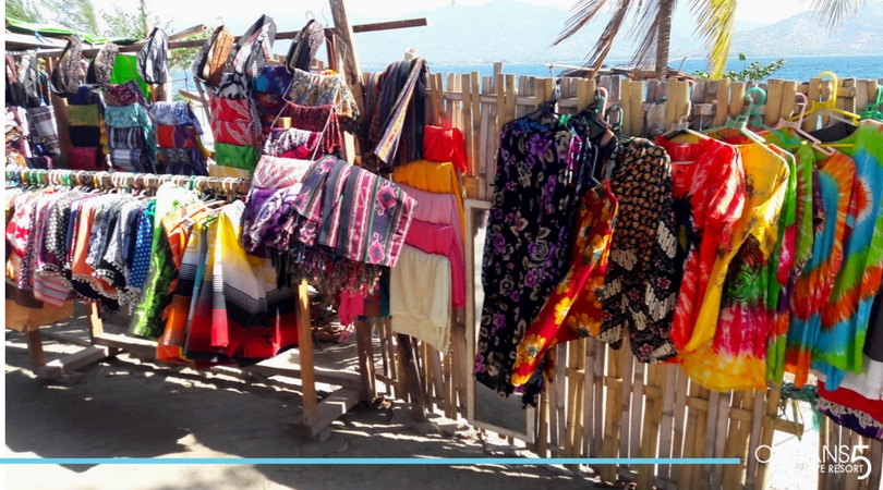 Clothing for sale on Gili Air