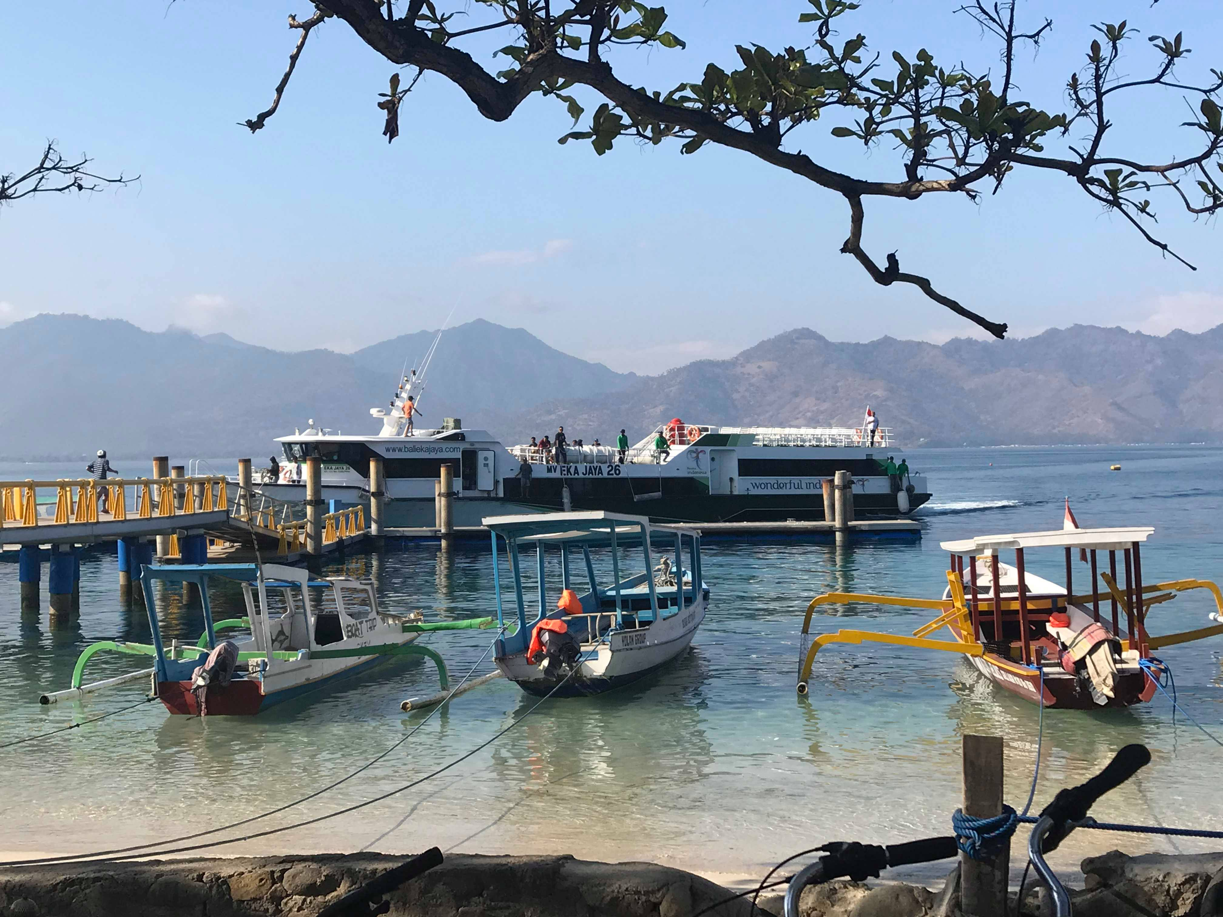 Fast Boats to the Gili Islands - Earthquake Lombok