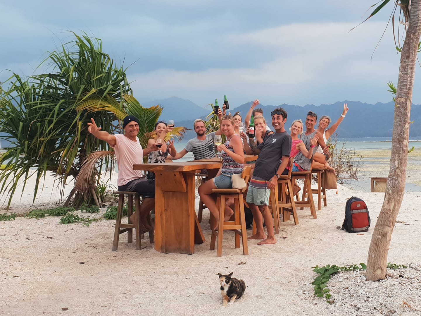 Gili Air is Open - Bars and Restaurants