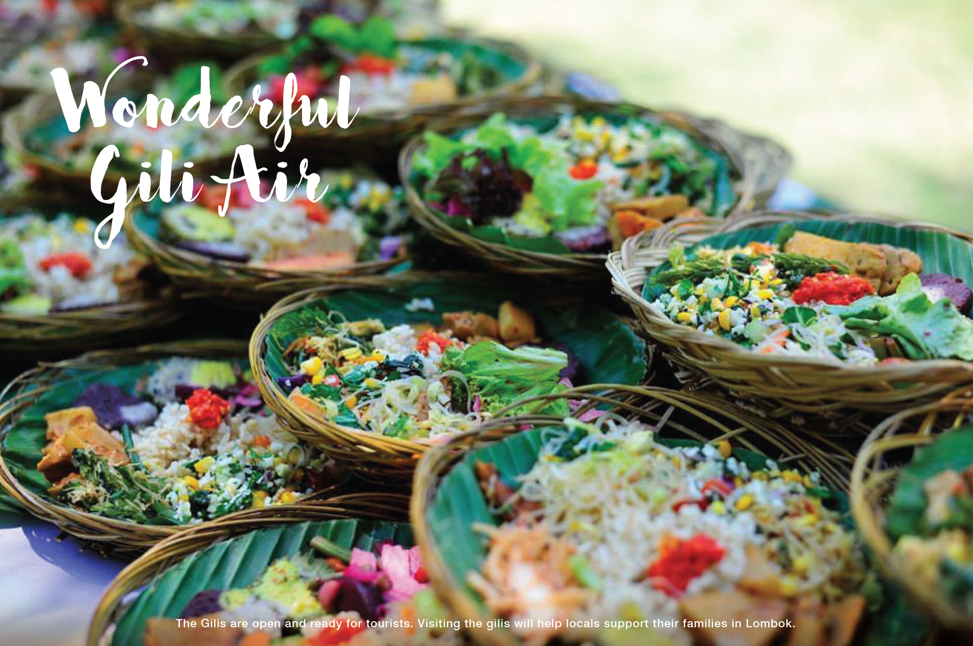 Dining in Gili Air