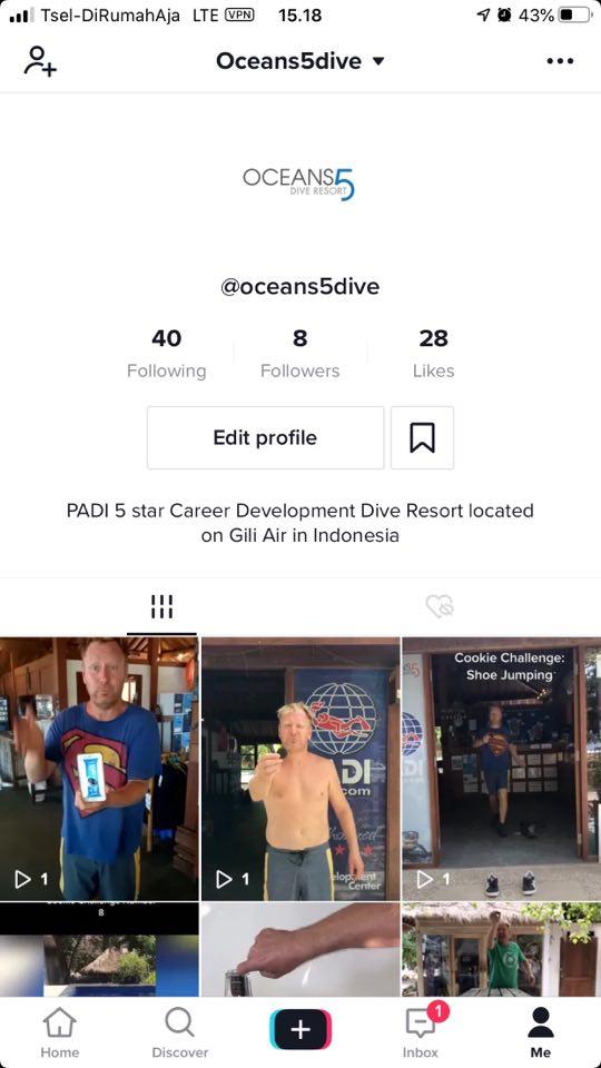 Oceans5Dive TikTok