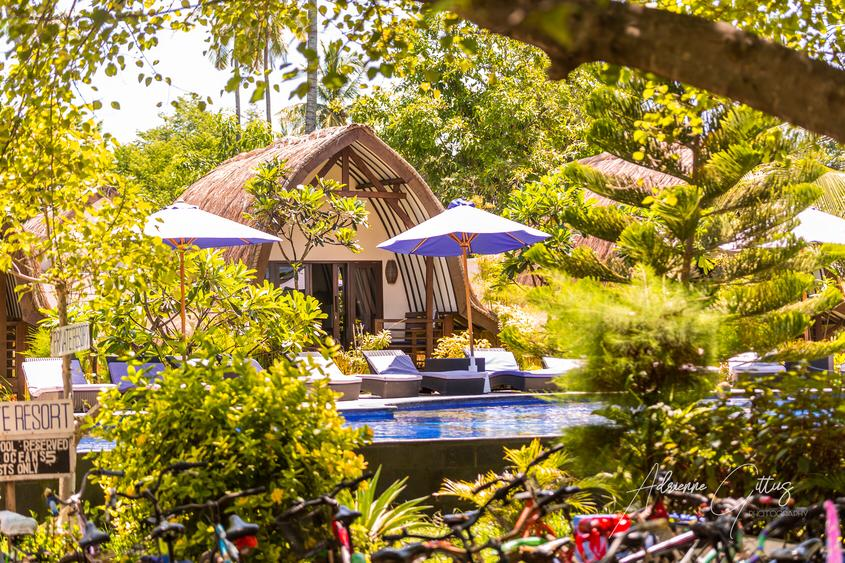 Poolside Bungalows Gili Islands Dive and Stay Packages Indonesia