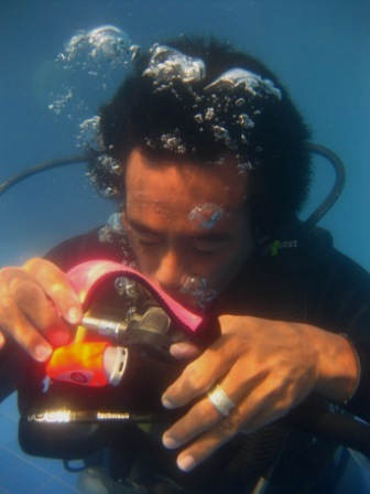 Scuba review at the Gili Island, do you like to refresh your diving skills?